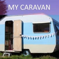 Step inside my little vintage caravan