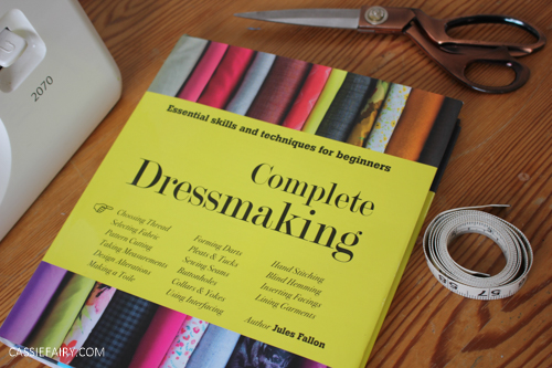 How to sew zips & sleeves + WIN Complete Dressmaking book