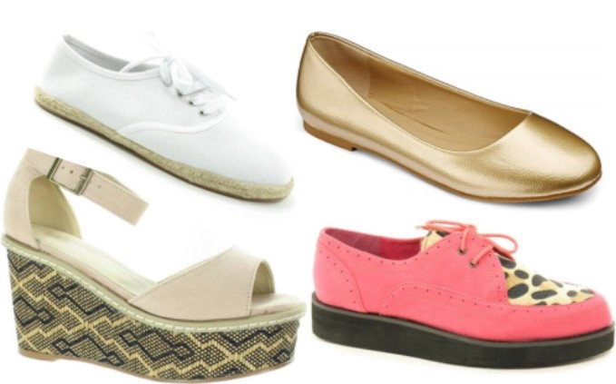 Tuesday Shoesday - Where to find summer shoes for under £5
