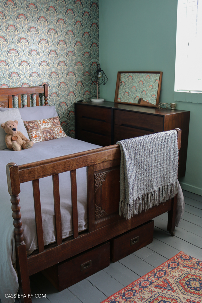 Photo of my arts and crafts style guest bedroom
