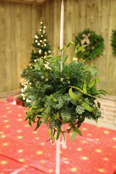Festive Fun at Blackthorpe Barn Wreath Making Workshop-66