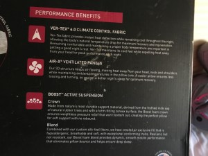 bedgear performance benefits