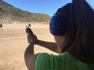 Shooting at the range