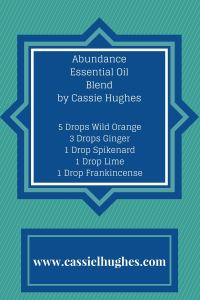 5 Drops Wild Orange3 Drops Ginger1 Drop Spikenard1 Drop Lime1 Drop Frankincense