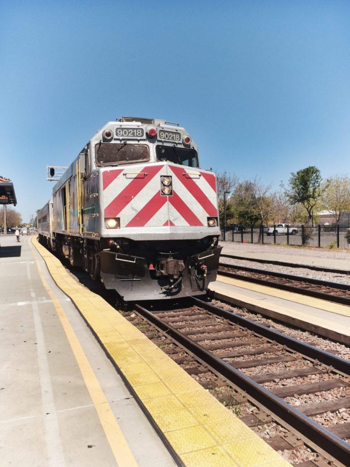 train to hanford