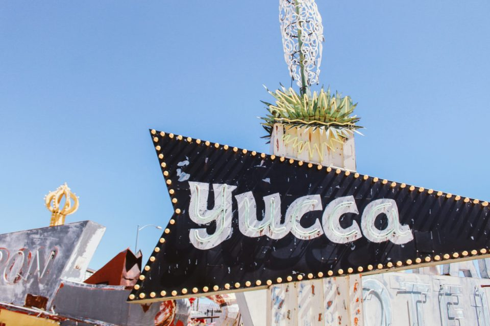 Visiting the Neon Boneyard in Las Vegas