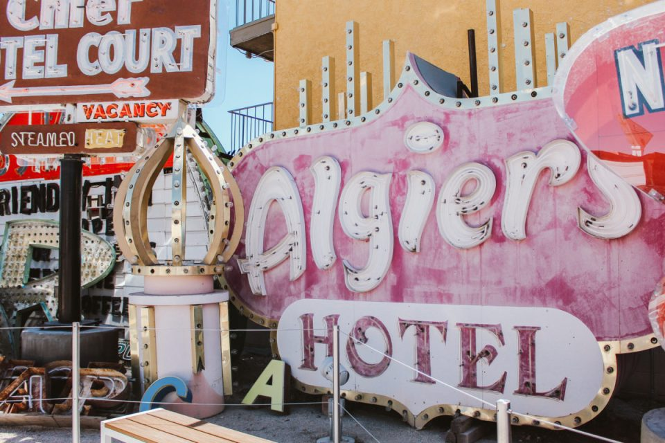 Signs from the neon boneyard.