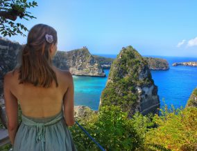 So glad this gorgeous spot was on my Nusa Penida itinerary