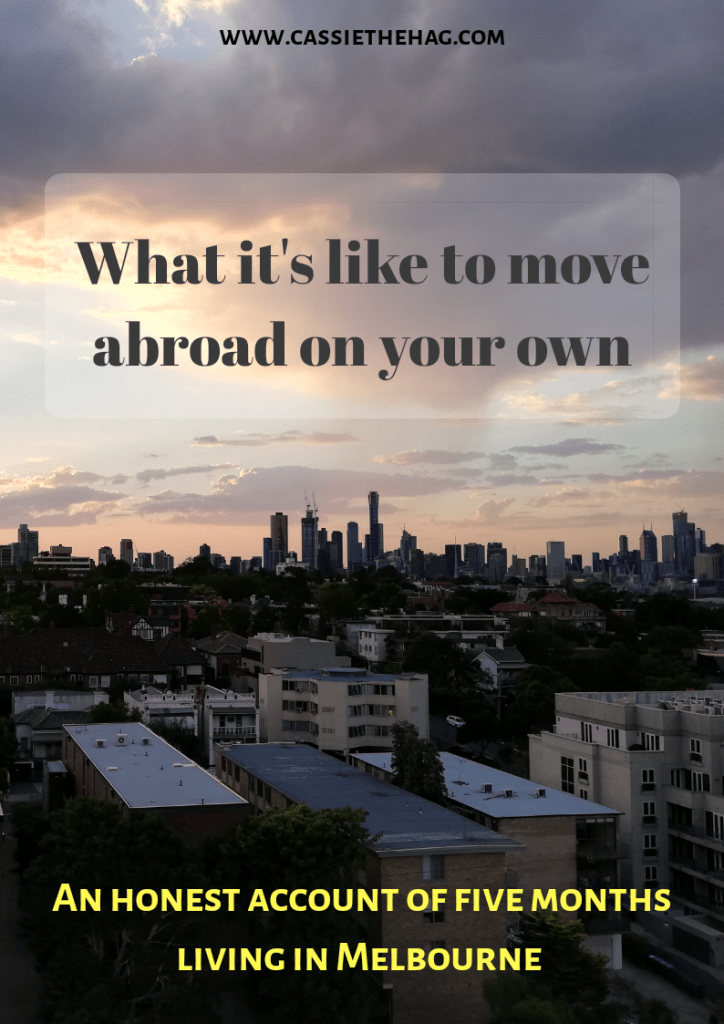 Moving Abroad Alone. What it's like to move abroad on your own – an honest account of my five months in Melbourne