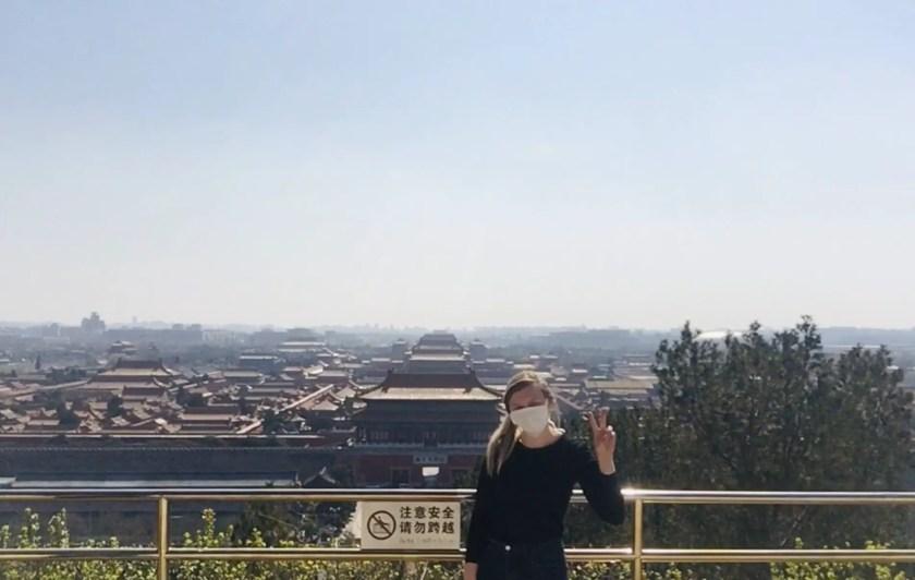 Rachel in Beijing