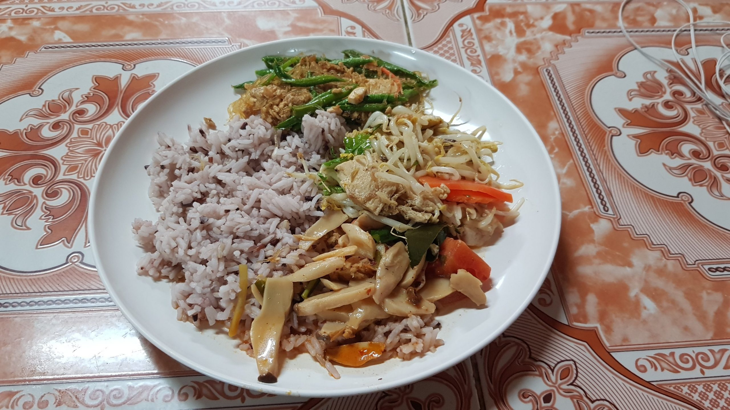 Cheap vegan friendly meals in Chiang Mai