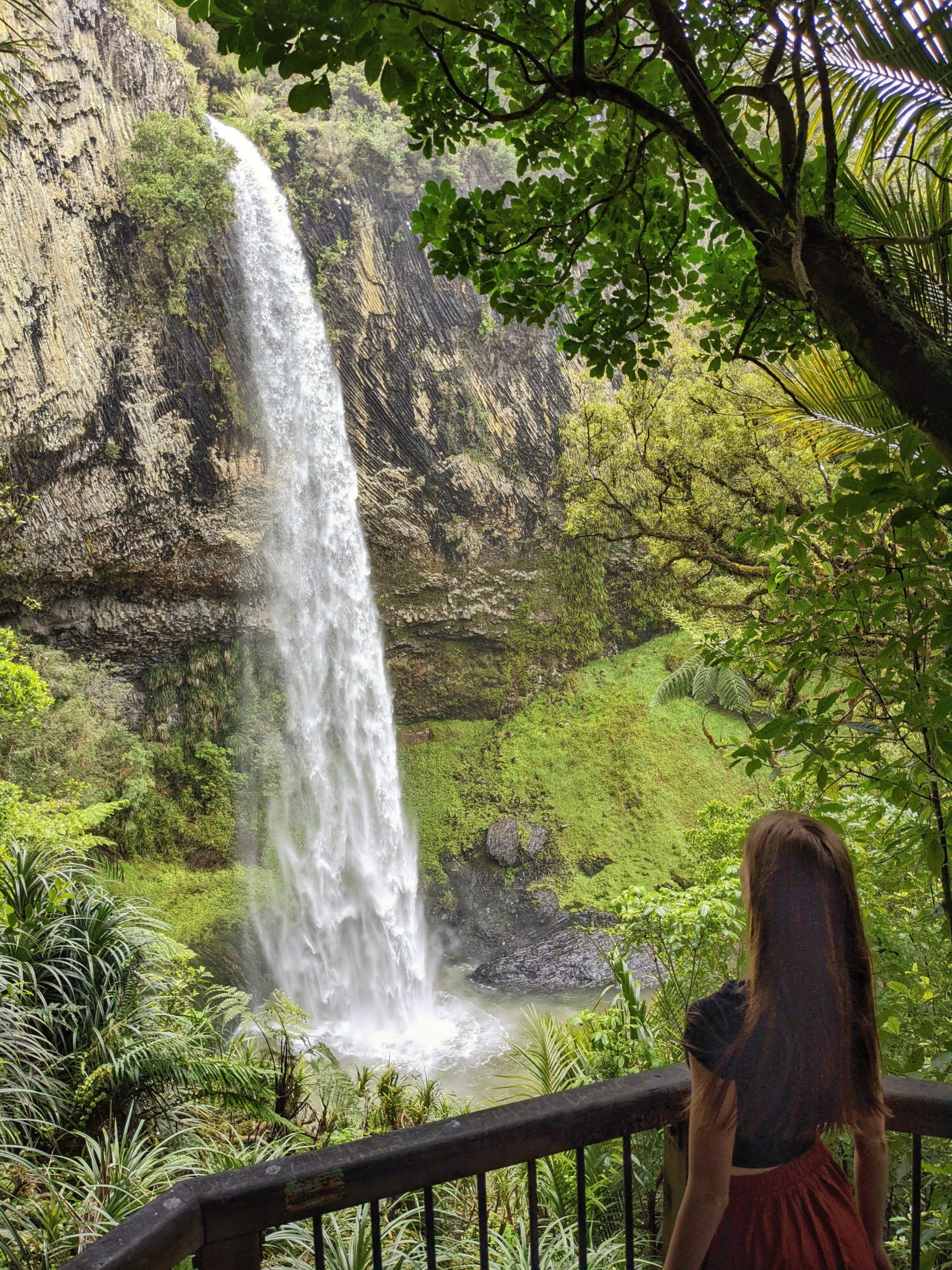 Bridal Veil Falls - best things to do in Raglan