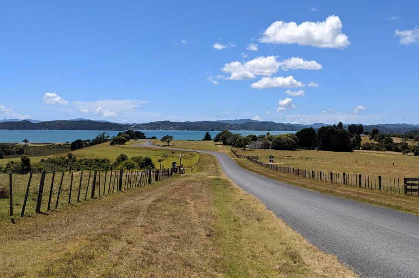 Views from the Waitangi Golf Course in Paihia, Bay of Islands