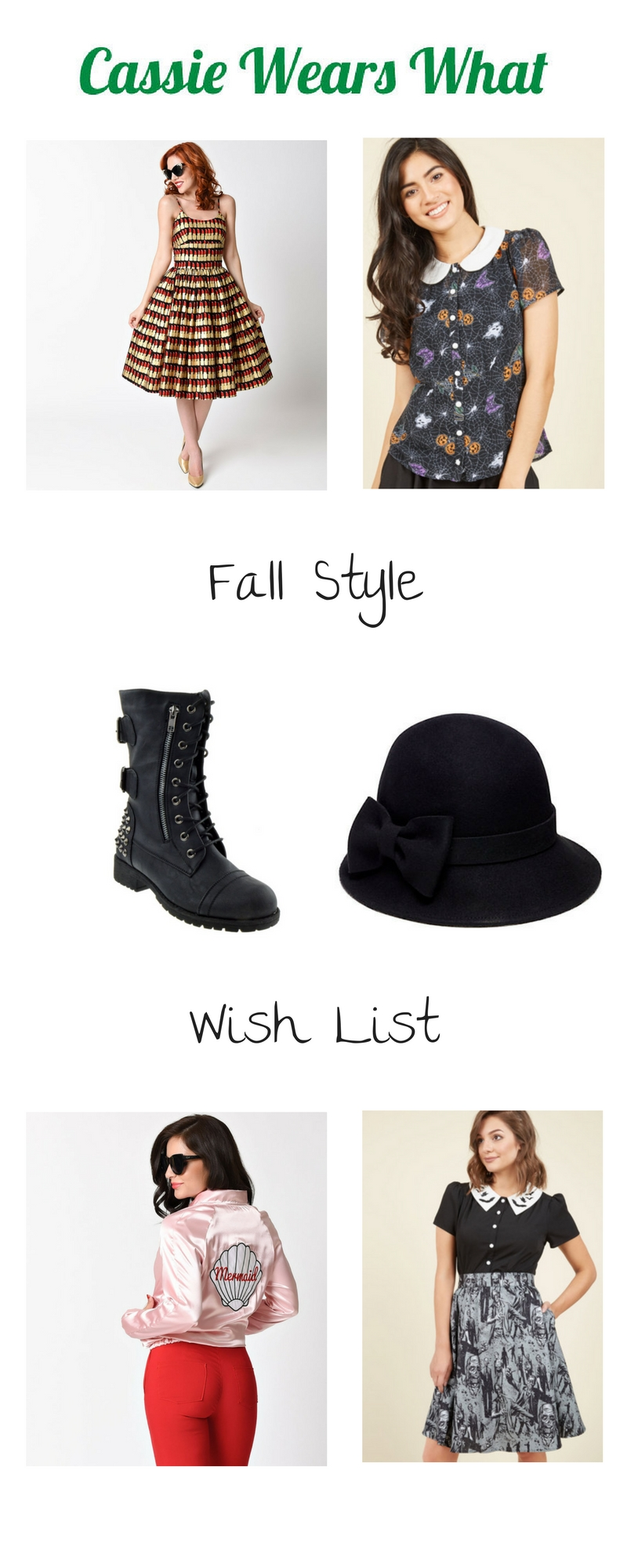 It's time for fall, the best season for fashion and style! Are you as excited as I am? Check out my Fall Style Wish List.