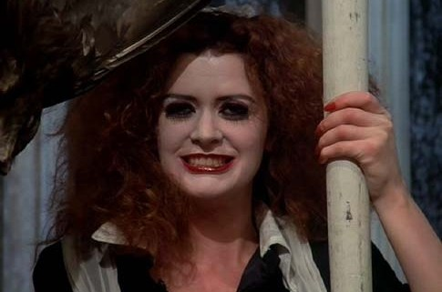 makeup monday, halloween, halloween makeup, rocky horror picture show, rocky horror, magenta, cassie wears what, cassiewearswhat.com
