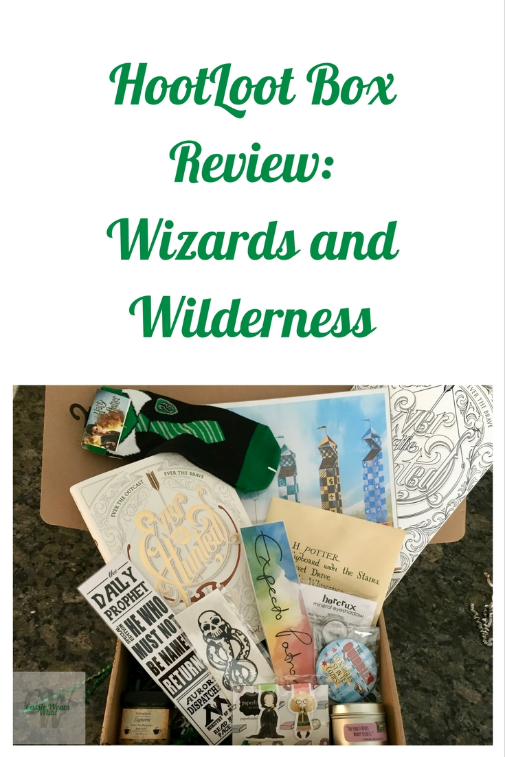 Have you heard of the HootLoot box yet? If you love books and beauty, check out my review of their January box: Wizards and Wilderness.