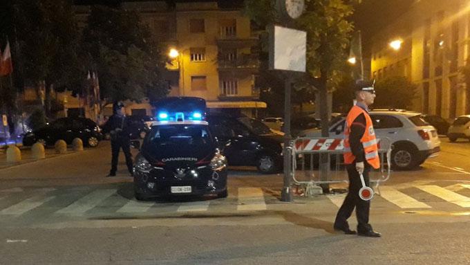 Cassino – Una scacciacane per terrorizzare i giovani lungo Corso della Repubblica