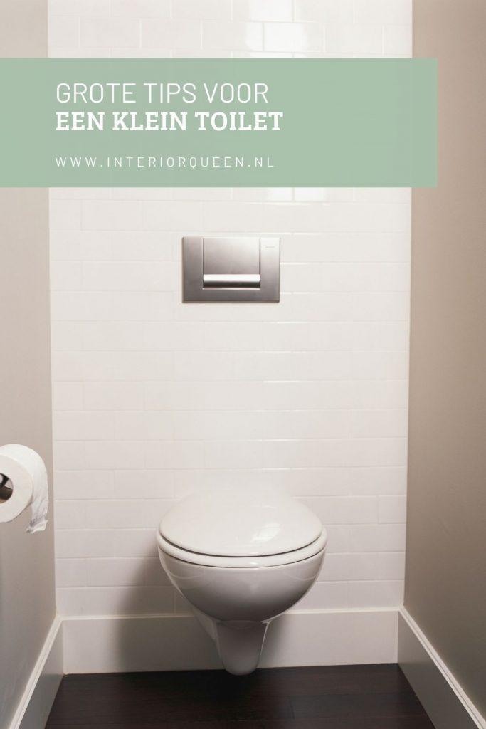 klein toilet inrichten