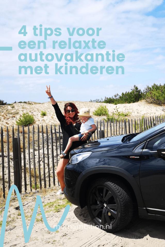 auto inrichten vakantie kofferbak