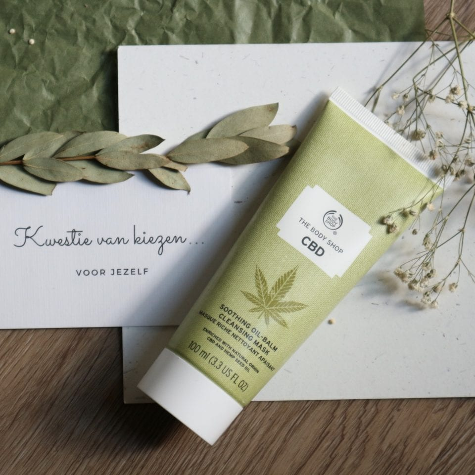 CBD Soothing Oil-Balm Cleansing Mask review