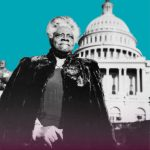 photo of Mary Bethune at the capitol