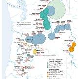 Hydropower, Atlas of Oregon, 2001. University of Oregon Press, 2001.