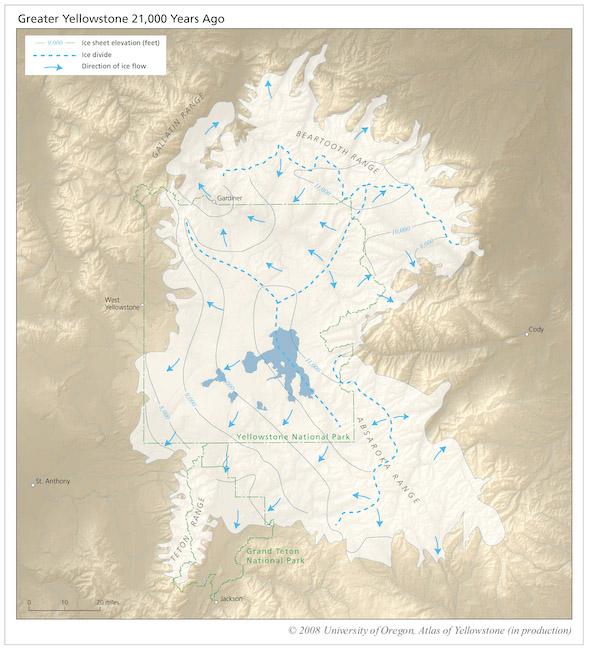 Atlas of Yellowstone InfoGraphics Lab