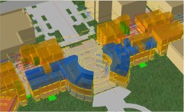 Interior 3D imagery. UO Campus GIS
