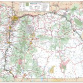 Oregon Official State Map. ODOT.