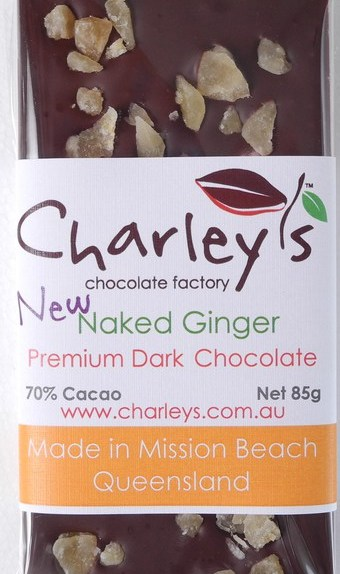 Charleys Naked Ginger Dark Chocolate