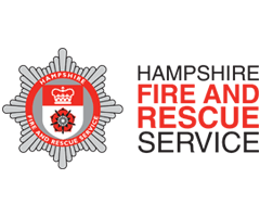 Hampshire fire and Rescue Logo