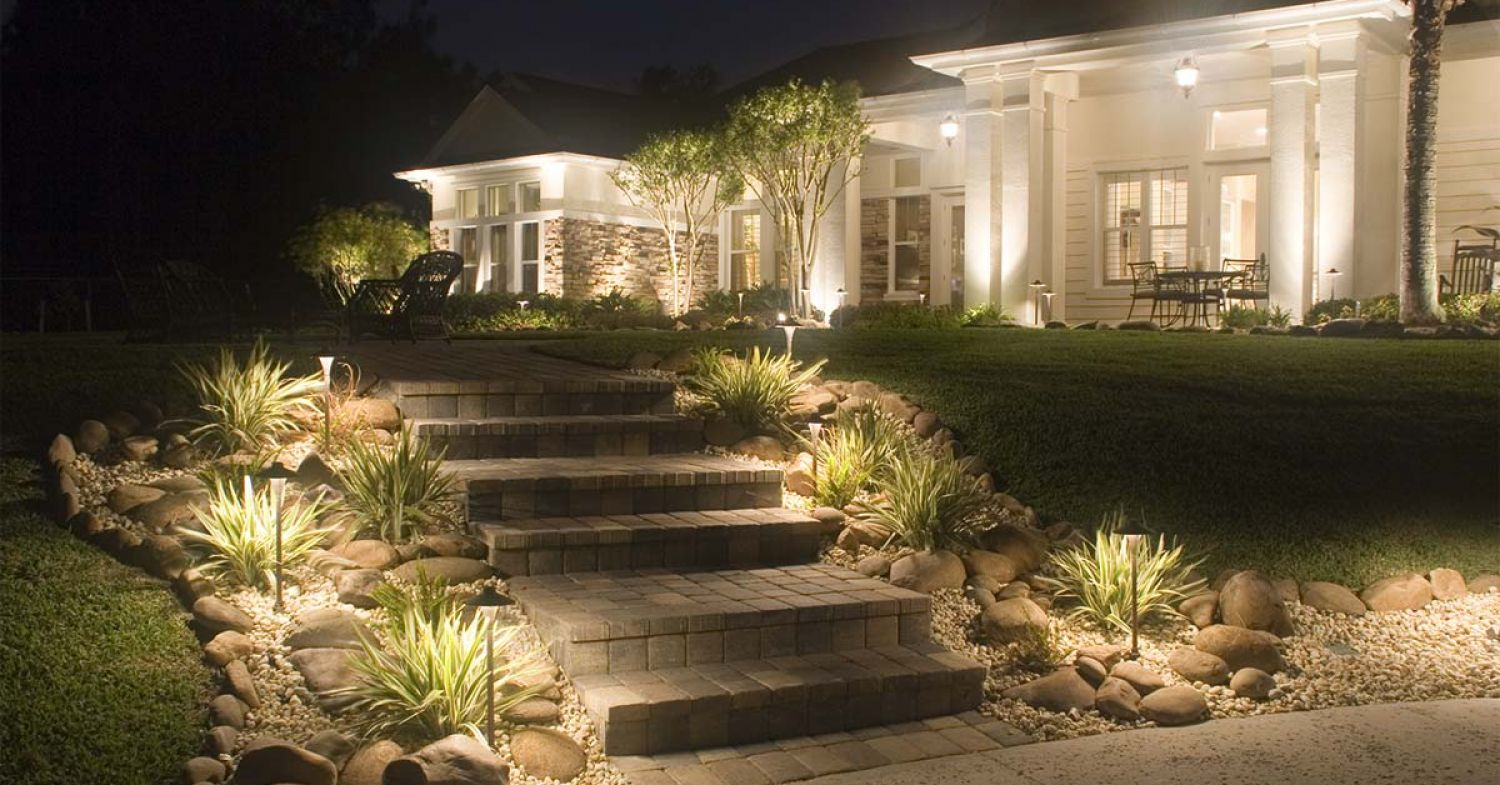 5 Great Ways to Light Your Outdoor Steps | Outdoor ... on Backyard Stairs Ideas id=97478