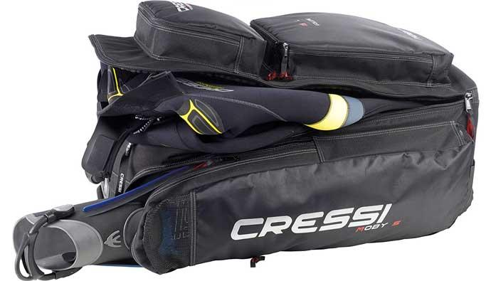 best dive bag Cressi Strong Large Capacity Trolley Bag