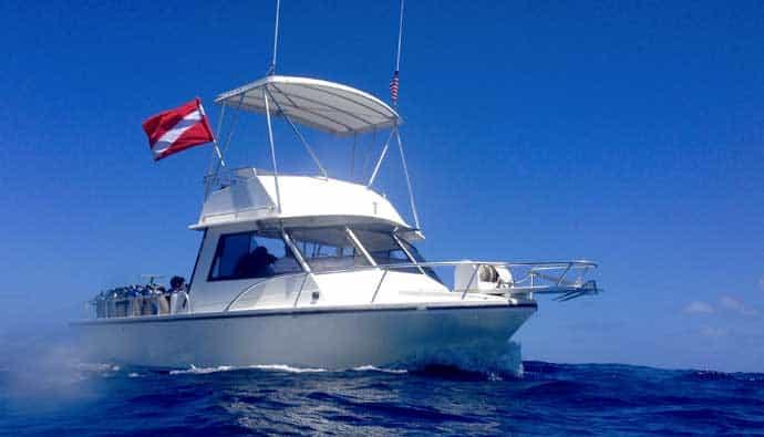 Best dive flag boat
