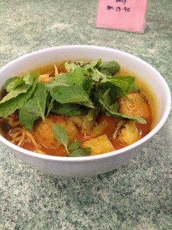 The fish free mee curry I went searching for one Saturday
