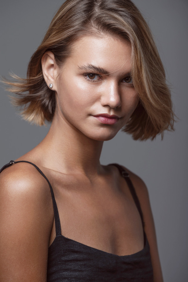 Castaway model Varya Baikova