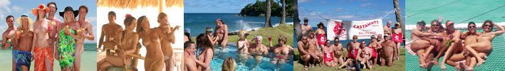 an image of various Clothing Optional Resorts locations