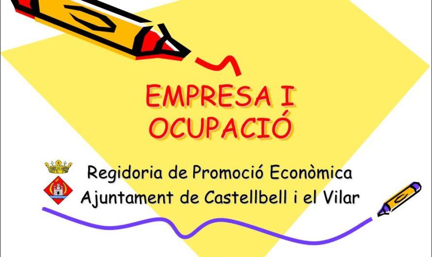 Castellbell i el Vilar disposarà aquest juliol de un nou servei municipal d´empresa i ocupació