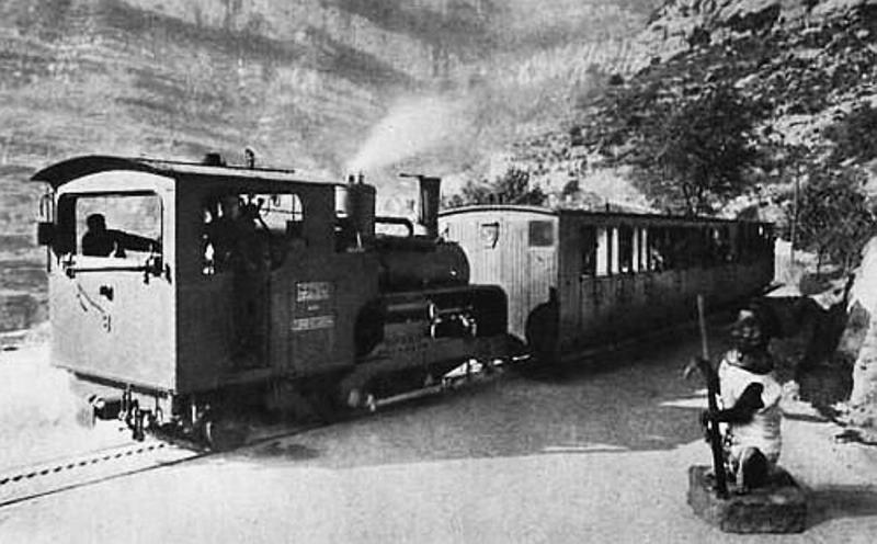 És compleixen seixanta anys del tràgic accident del cremallera a Montserrat.