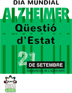 21 de Setembre | Dia Mundial contra l'Alzheimer