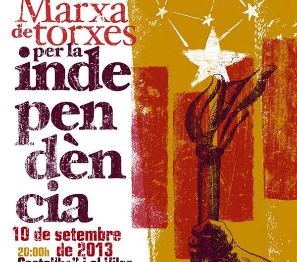 Prop de  400 castellvilarencs participaran a la via Catalana de l´onze de Setembre