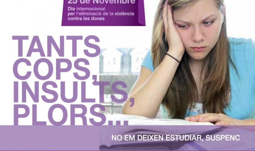 la campanya comarcal sobre el dia internacional de la violencia contra les dones , anirà adreçat als infants