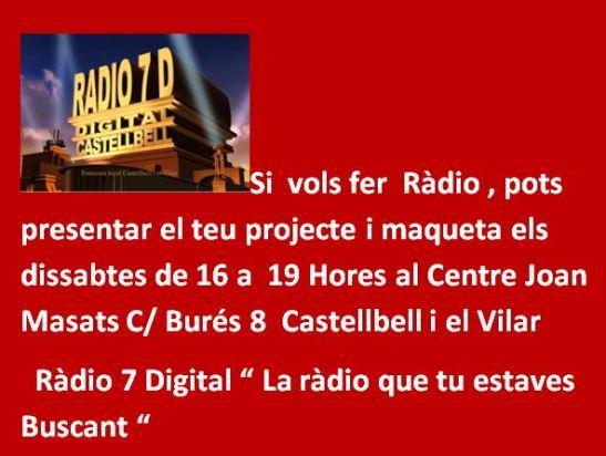 Promo Ràdio Projectes i Maquetes