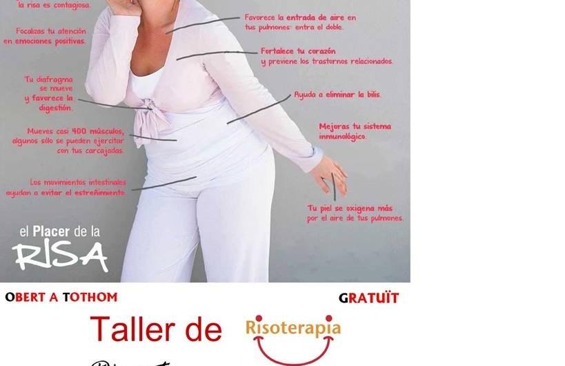 """Taller de """"Risoterapia"""" dimarts 26 de Novembre a les 17: 30 al Casino del Borràs"""