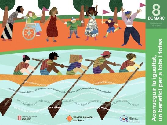 Cartell Dia Internacional de la Dona Treballadora