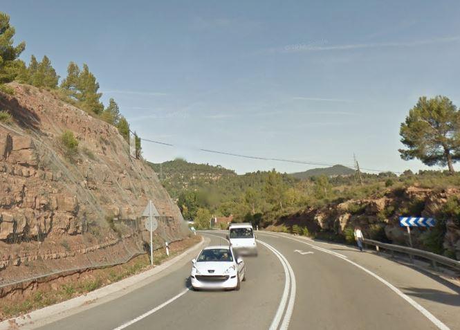 Comencen les obres de millora del ferm a la C-55 entre Castellbell i el Vilar i Monistrol de Montserrat