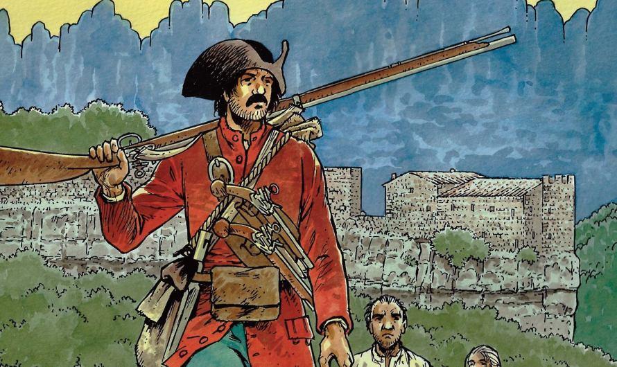 """Demà divendres es posa a la venda el còmic """" Miquelets 1714″ a tots els quioscos del Bages."""