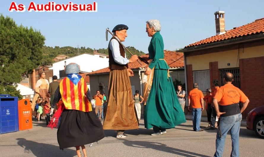 Nula assistència de públic a la 19ena trobada gegantera de Castellbell i el Vilar.