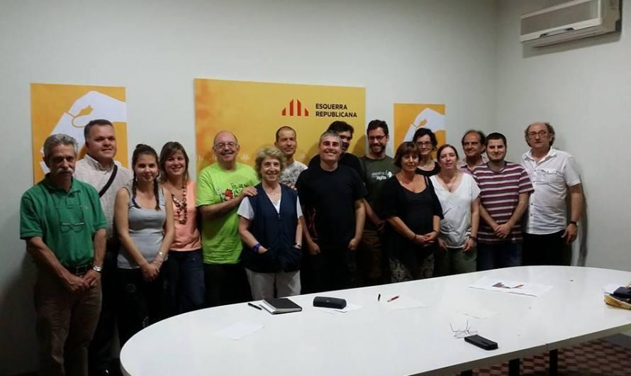 ERC Bages  ja és preparà per al 9-N i per les municipals del 2015