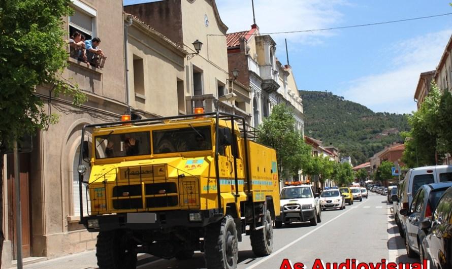La 4arta caravana solidaria Ipa Bages passa per Castellbell i el Vilar